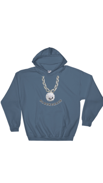 "AGSILVERDOJO SILVER STACKING ( HOODIE) COLLECTION  ""BLOCKCHAIN"""
