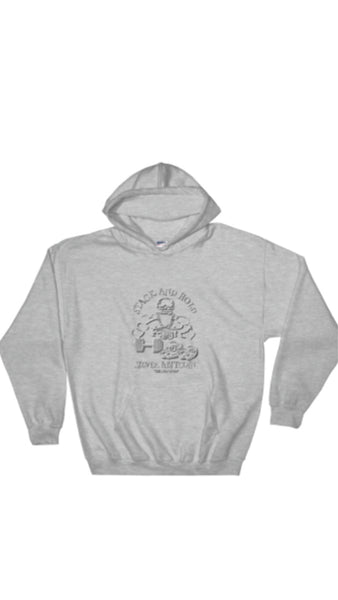 "AGSILVERDOJO SILVER STACKING APPAREL (HOODIE) COLLECTION "" STACK AND HOLD"""