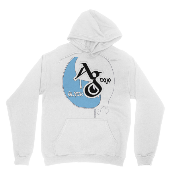 TRADEMARK/LOGO MELTING (BABY BLUE) Classic Adult Hoodie
