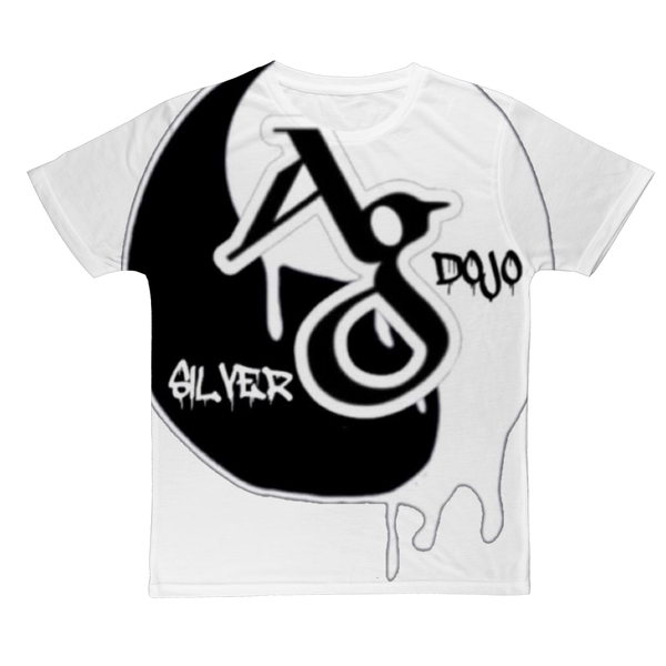 TRADEMARK/LOGO (BLACK/WHITE) Classic Sublimation Adult T-Shirt