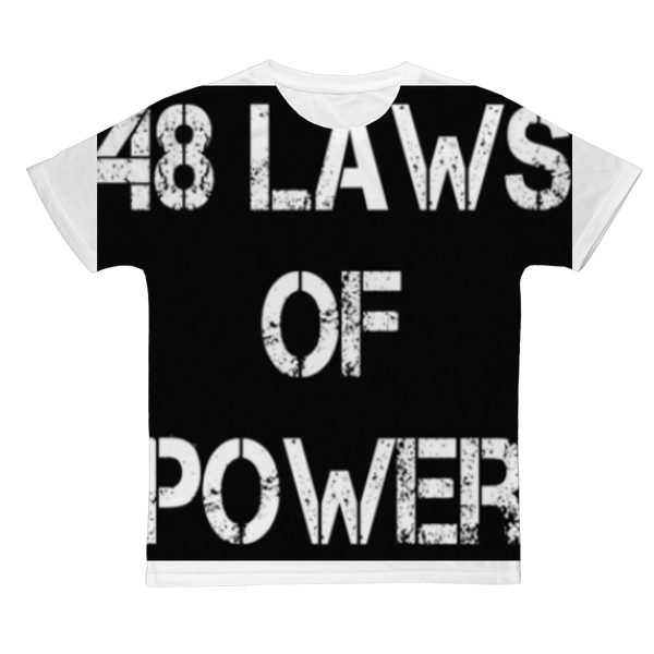 48 LAWS OF POWER #2 Classic Sublimation Adult T-Shirt
