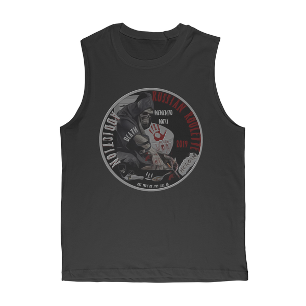 ADDICTION RUSSIAN ROULETE Classic Adult Muscle Top