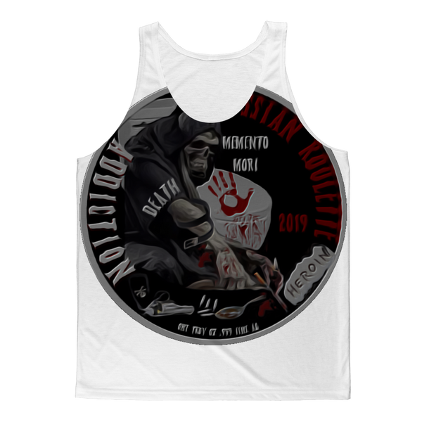 ADDICTION RUSSIAN ROULETE Classic Sublimation Adult Tank Top