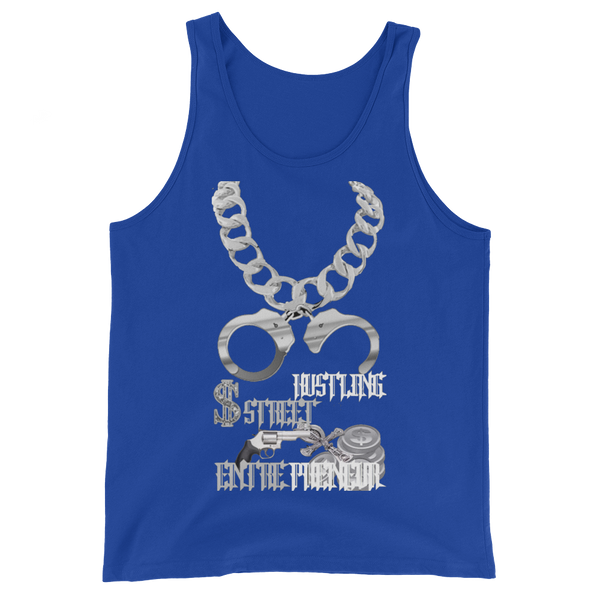 AGSD SILVER STACKIN ( TANKS) APPAREL COLLECTION ( STREET HUSTLING ENTREPRENEUR) 12  COLORS