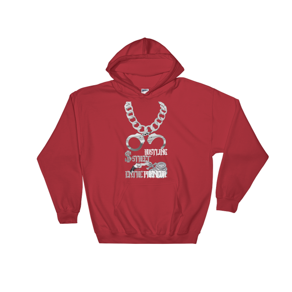 AGSD SILVER STACKIN (HOODIE) APPAREL COLLECTION ( STREET HUSTLING ENTREPRENEUR) 8 COLORS