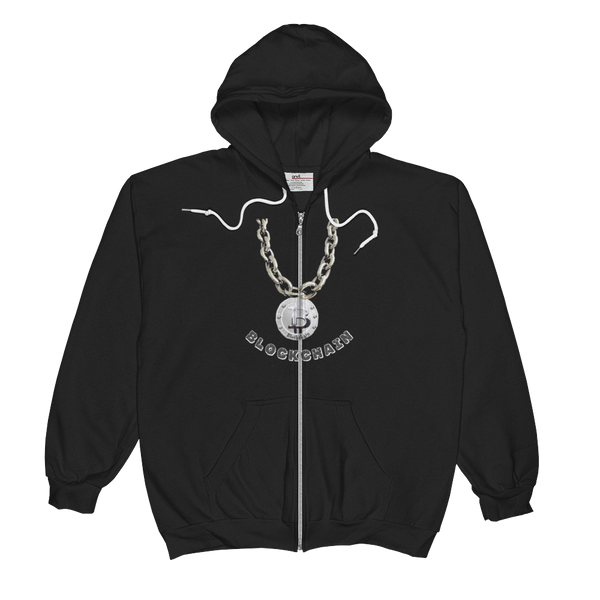 AGSD SILVER STACKIN (ZIPS) APPAREL COLLECTION ( BLOCKCHAIN) 4 COLORS
