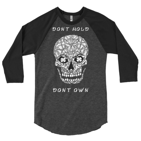 AGSD SILVER STACKIN (LONG SLEEVE TS) APPAREL COLLECTION (SKULL DONT HOLD DONT OWN) 14 COLORS