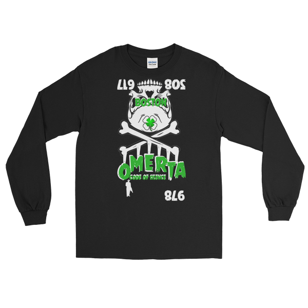 AGSD SILVER STACKIN ( LONG SLEEVE) (MENS/WOMANS) APPAREL COLLECTION (OMERTÀ) 15 COLORS