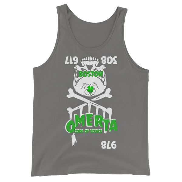AGSD SILVER STACKIN (TANKS) APPAREL COLLECTION ( OMERTÀ) 5 COLORS