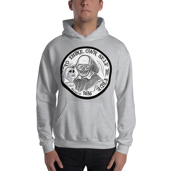 AGSD SILVER COIN STREETWEAR APPAREL ( TO THINE YOURSELF BE TRUE) OP