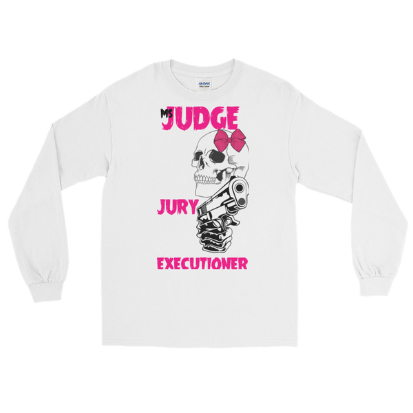 AGSD SILVER STACKIN ( LONG SLEEVE) (MENS/WOMANS) APPAREL COLLECTION (JUDGE, JURY, EXECUTIONER) 15 COLORS