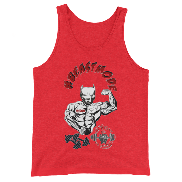 AGSD STREETWEAR GYM/BODYBUILDING TANKS APPAREL COLLECTION ( PITBULL GYM #BEASTMODE)