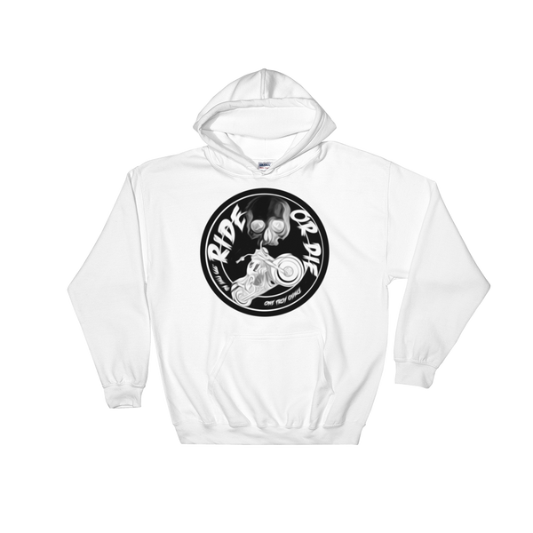 AGSD STREETWEAR SILVER APPAREL RIDE OR DIE ( WHITE) COIN