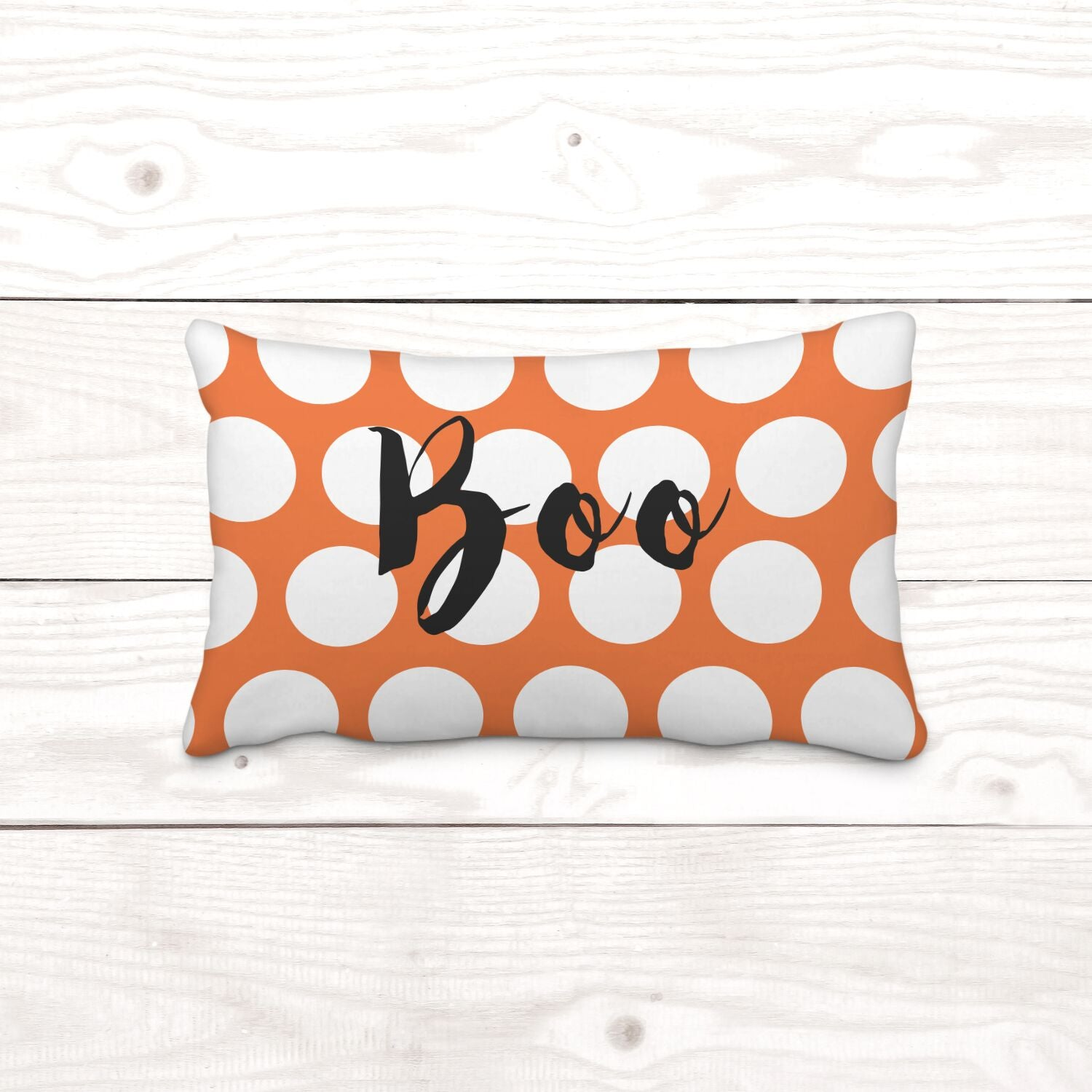 Rectangle Boo Pillow Cover