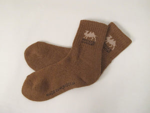 Camel Wool Socks