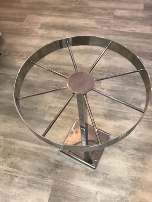 Chrome Counter Top Spinner