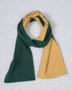 Reversible Bison Cashmere Scarf