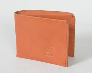 Minimalist Bifold Leather Wallet