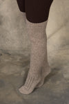 Rustic Over-the-Knee Wool Socks