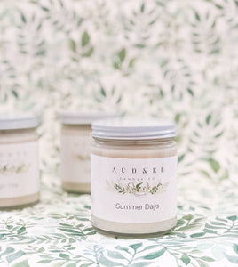 Summer Days Soy Candle
