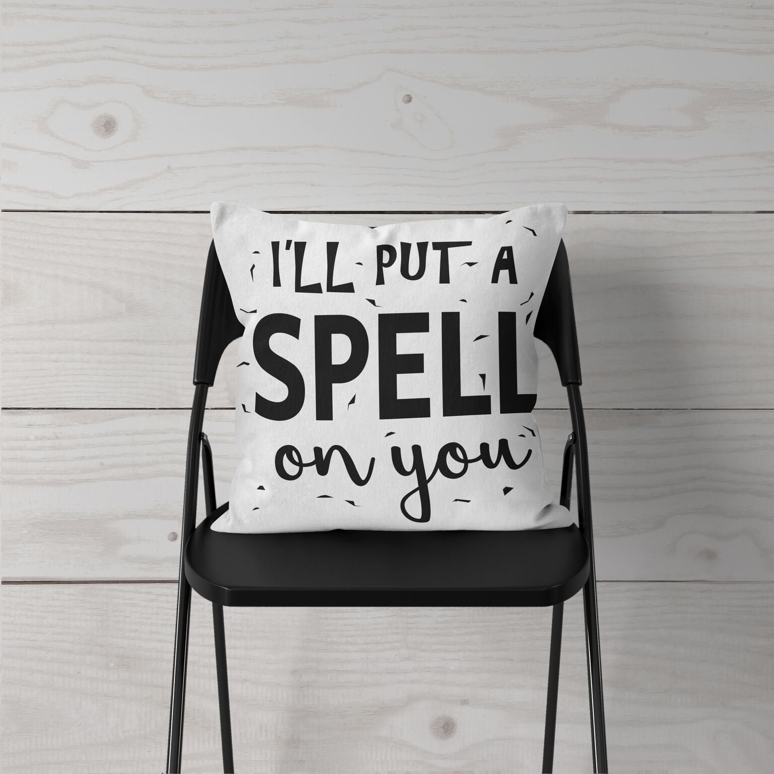 """I'll Put a Spell On You"" Pillow Cover"
