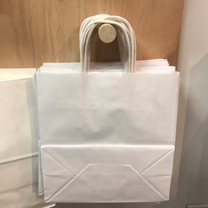White Paper bag - Meduim