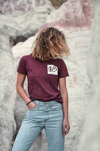 Wild and Co Maroon (unisex t-shirt)