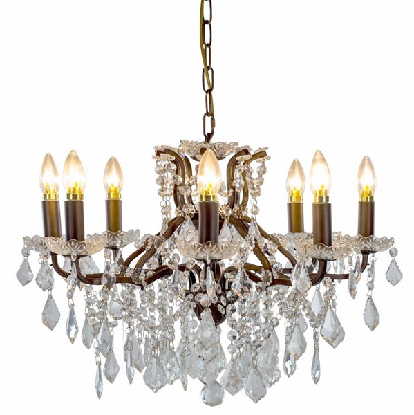 Chandelier Glass Medium (64 x 64 x 48cm)