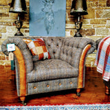 Chessington Club Armchair (127 x 95 x 85cm)
