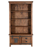 Jupiter Bookshelves, 2 drawer, 1 door (100 x 37 x 185cm)