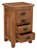 Jupiter 4 Drawer Chest Cabinet (100 x 37 x 185cm)