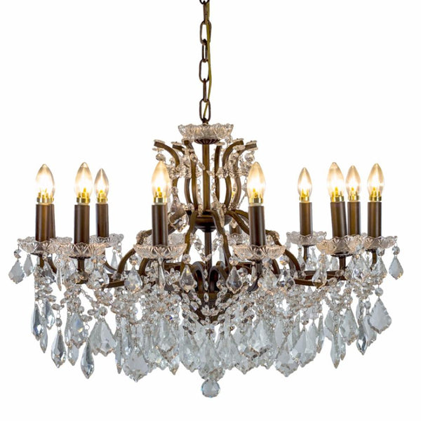Glass Chandelier (various sizes & styles)