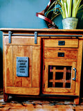Jupiter Bar Cabinet, 2 drawer, 1 door (100 x 40 x 90cm)