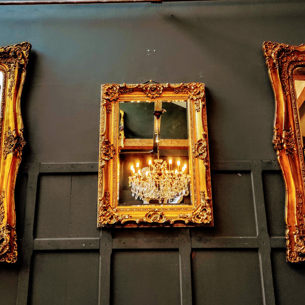 Mirrors Gold Retanglular Small (90 x 118cm)