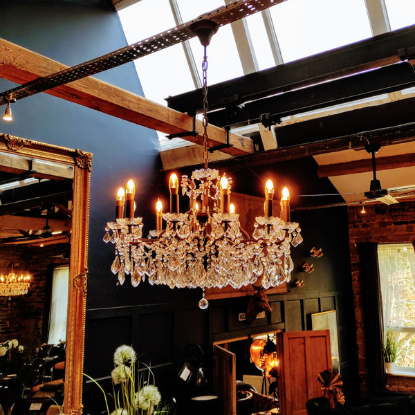 Chandelier Glass (various sizes & styles)