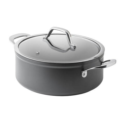 4 Litre Hard Anodised Dutch Oven - Bluebird