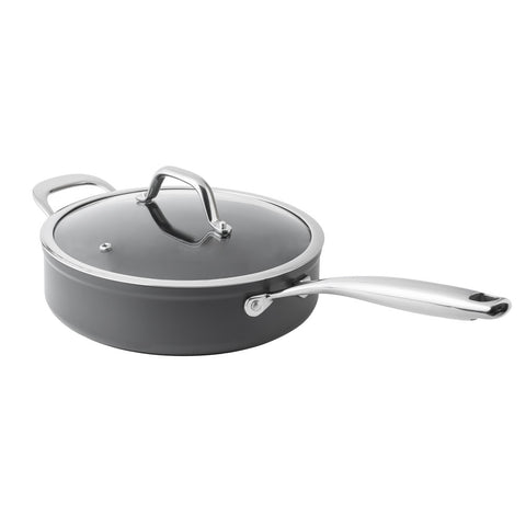 24cm Hard Anodized Saute Pan - Bluebird