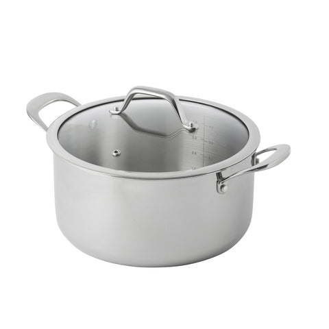 Tri-Ply 4 Litre Dutch Oven - Bluebird