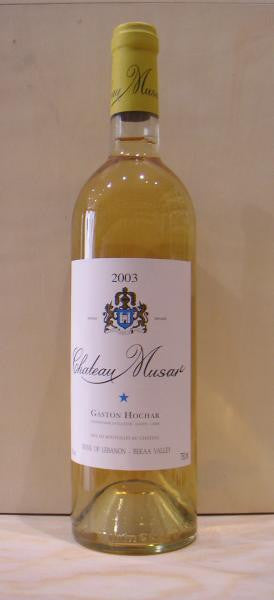 Chateau MUSA,r White 2005 Bekaa Valley