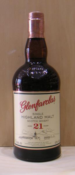 Glenfarclas 21 YO Speyside Single Malt Scotch Whisky