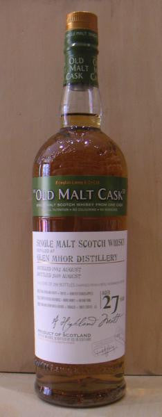 Glen Mhor 27 YO 50%Abv Single Malt