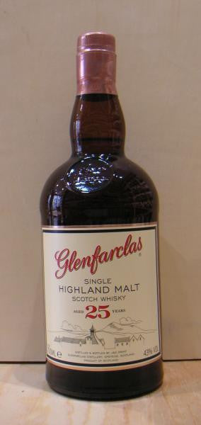 Glenfarclas 25 YO Speyside Single Malt Scotch Whisky