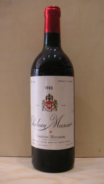 Chateau MUSA,r 1979 Bekaa Valley