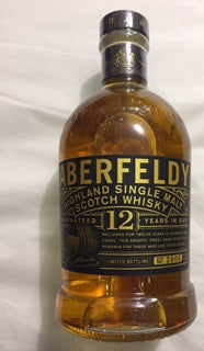 Aberfeldy 12 YO Highland Single Malt 70cl