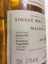 Macduff 8 YO Malt Single cask