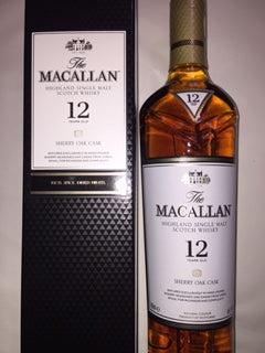 Macallan 12 YO Sherry Oak Cask
