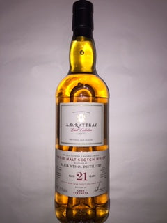 ADR Blair Athol 21 YO Single cask, cask strength 63% Abv