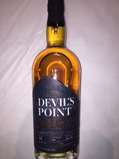 Devils' Point,  Aged Rum, Single Cask Small Batch Series, Virgin American Oak