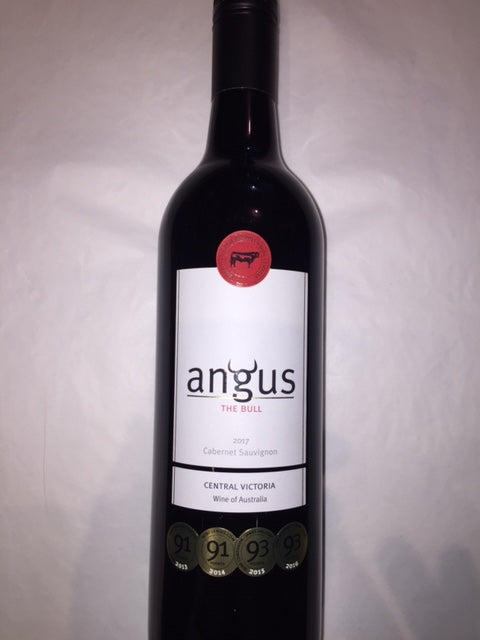 Angus The Bull Canbernet Sauvignon 2017