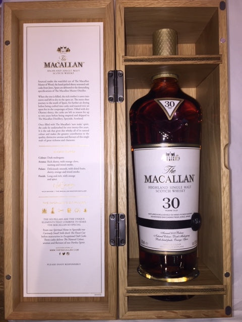 Macallan 30 Yeras Old Single Malt